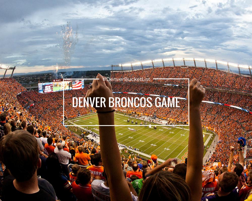 Must See Attractions Broncos Denver Broncos Football Denver Broncos