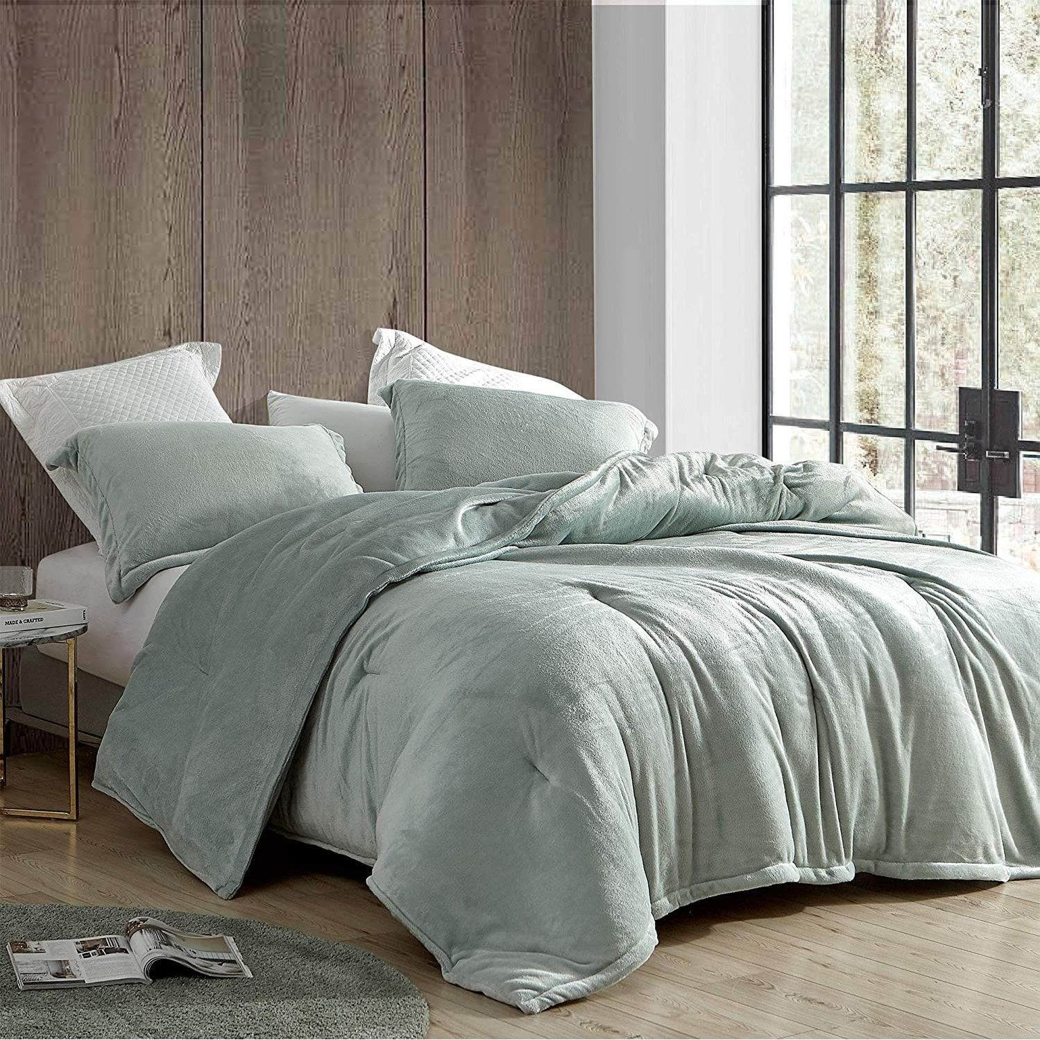 Coma Inducer Comforter Touchy Feely Mineral Gray