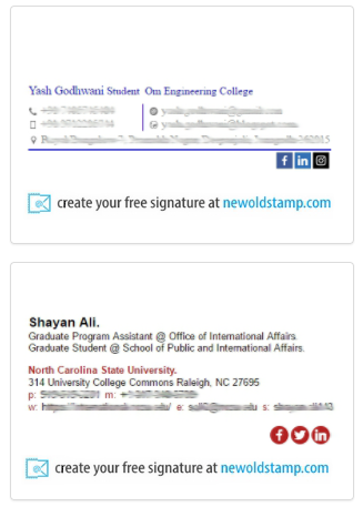 Pin By Newoldstamp On Email Signature Examples Email Signatures