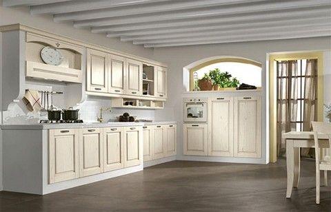 cucina muratura shabby chic - Cerca con Google | Cocina | Pinterest ...