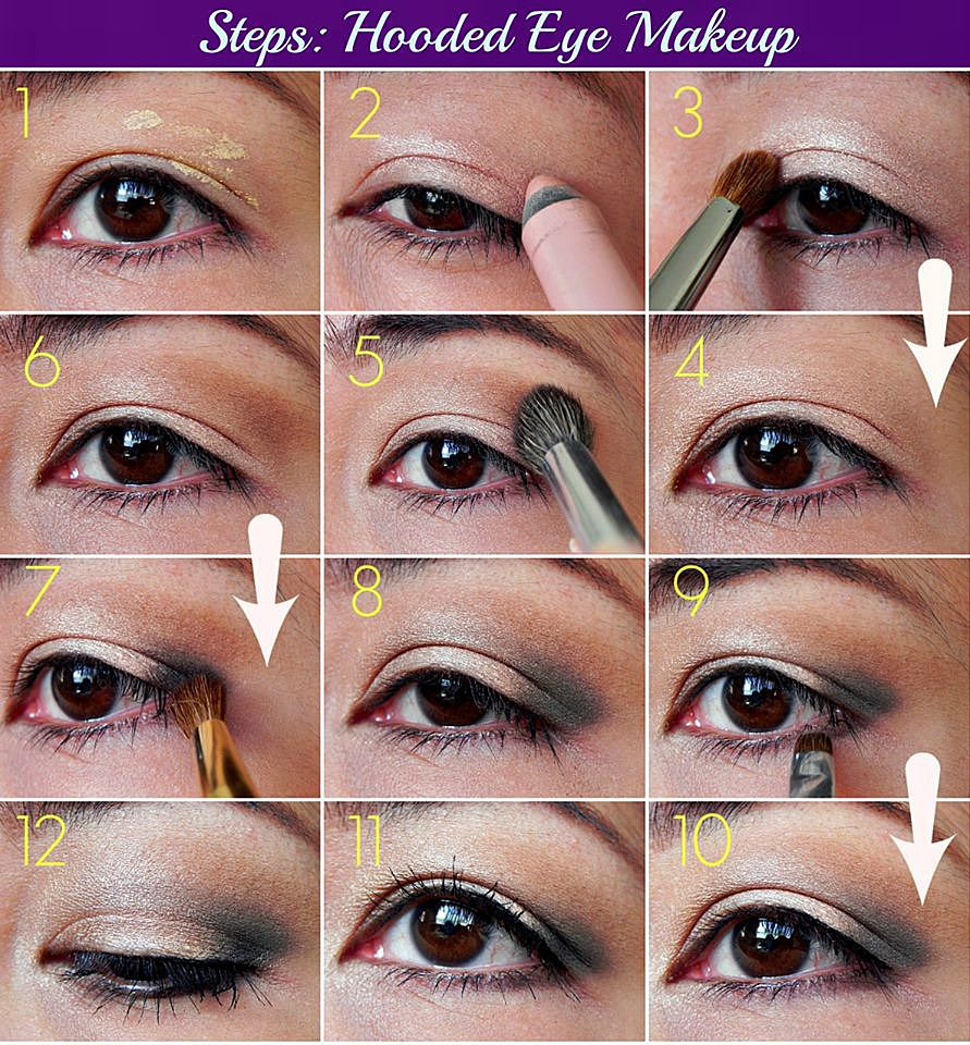 Apply Eye Makeup Hooded Eyes Vidalondon