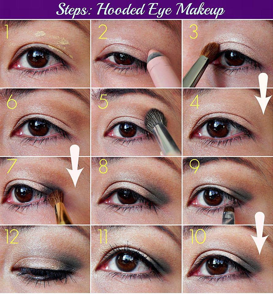 Apply Eye Makeup Hooded Eyes Vidalondon