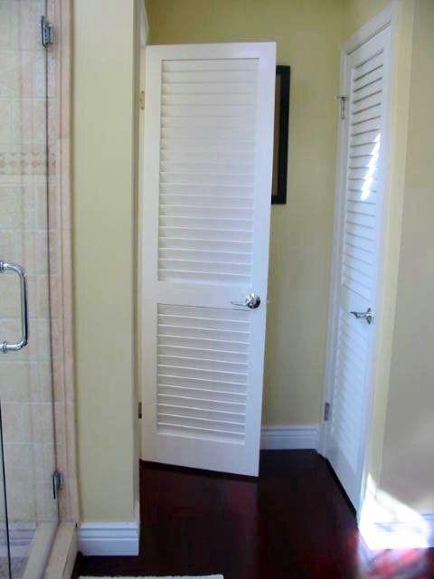 Bathroom Doors Door Interior Style Cai 6222 2 1 Fixed Plantation Louvered