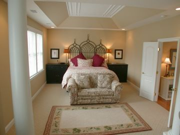 Master Bedroom Tray Ceiling tray ceiling idea .. need to repaint the master bedroom | master