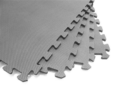 240 Square Feet 60 Tiles Borders We Sell Mats Light Gray 2 X 2 X 38 Antifatigue Interlocking E Exercise Floor Mat Trade Show Flooring Interlocking Foam Tiles