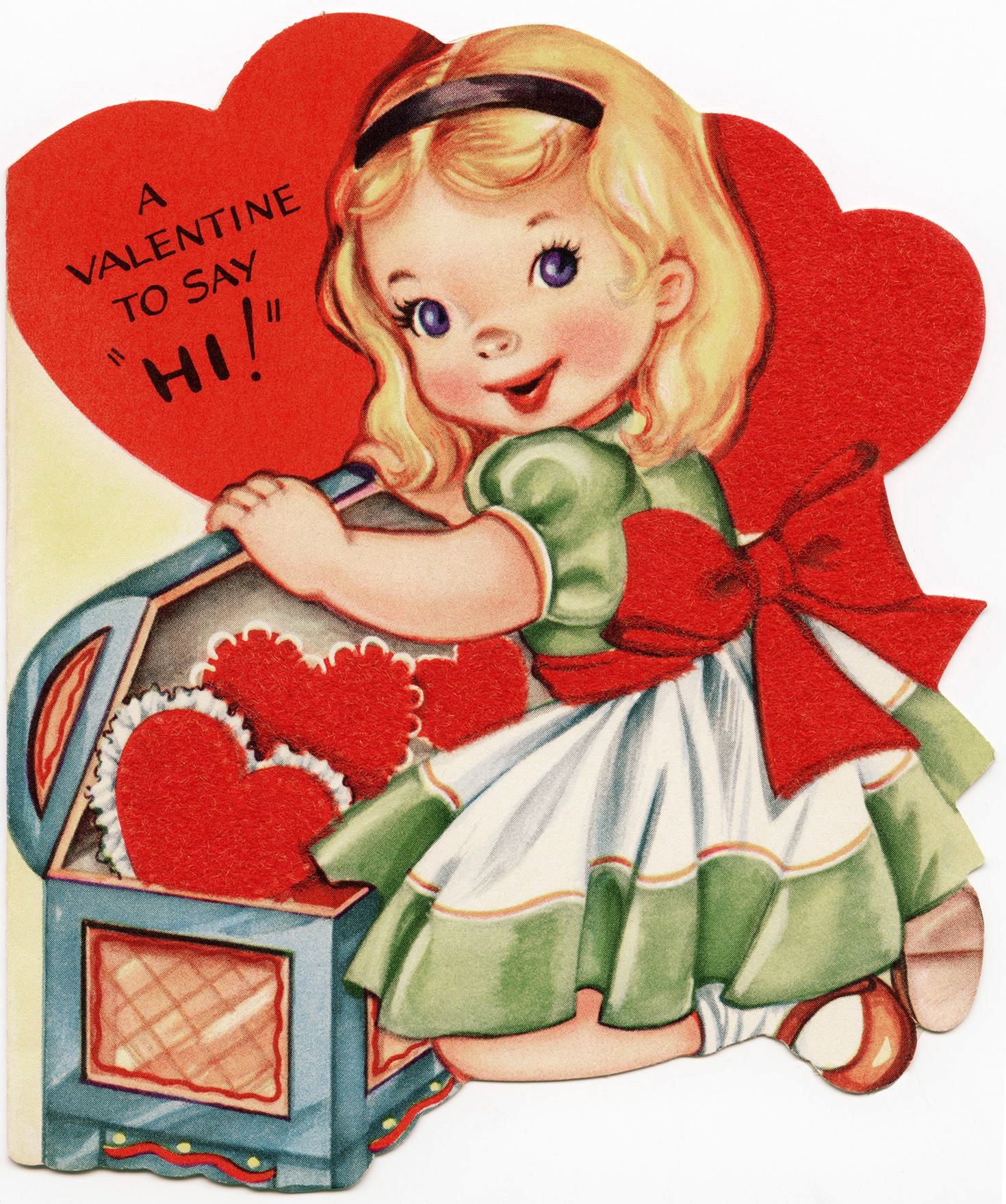 Old Design Shop free digital image childrens vintage Valentine – Valentine Card Wishes