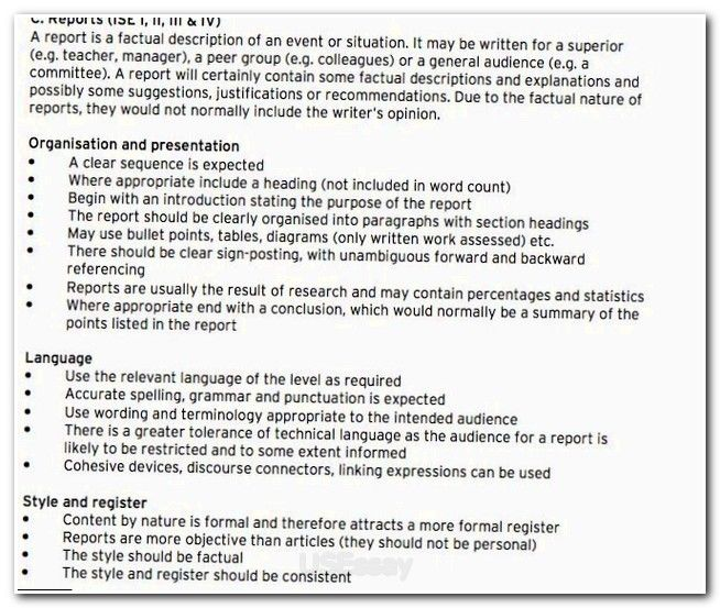 essays example english