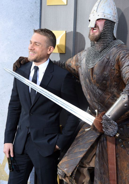 Charlie Hunnam Looks Like a Movie Star at the King Arthur: Legend of the Sword LA Premiere