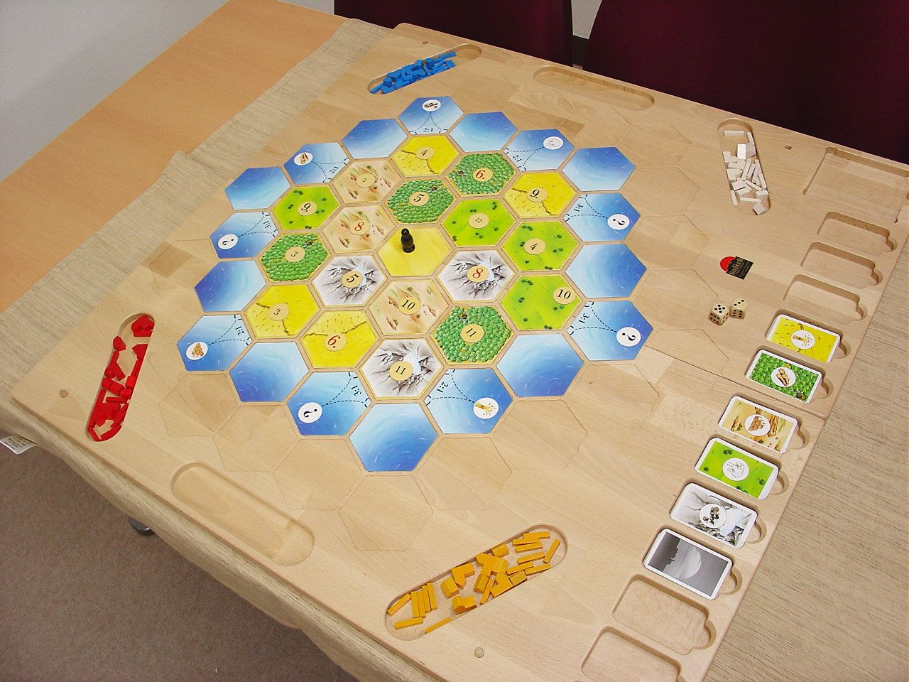 catan wood board Google Search Board games diy, Catan