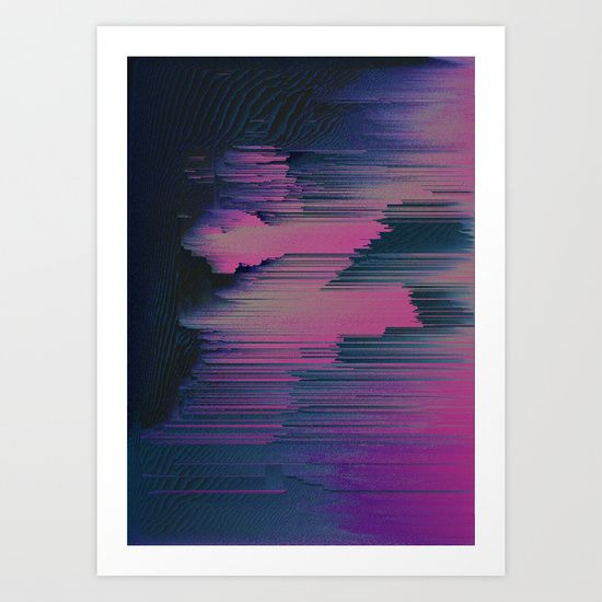 Tickled+Pink+Art+Print+by+DuckyB+(Brandi)+-+$18.00