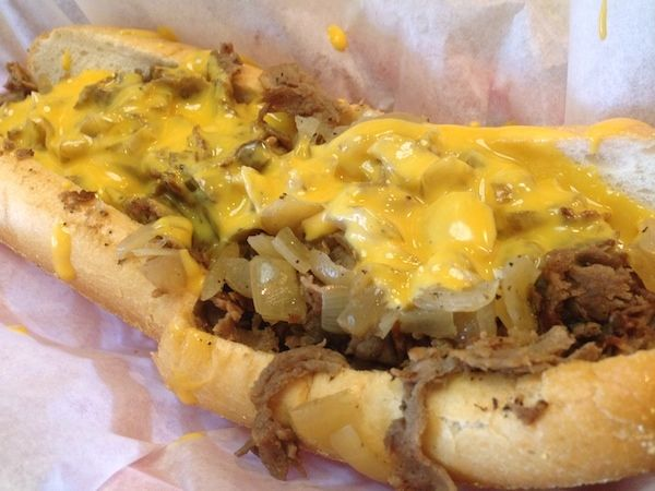Philly Cheesesteak wit Whiz from Cheesesteak Experience – Ft. Lauderdale, Florida