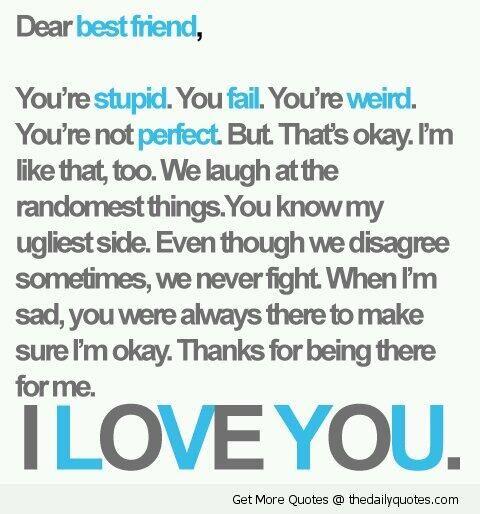 To my best frann