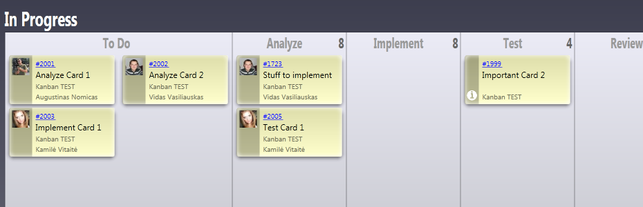 Eylean Offers A Great Integration Of Tfs Into The Kanban Board