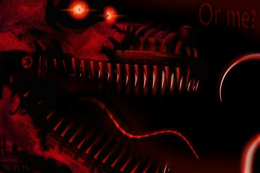Nightmare Foxy (fnaf 4 teaser)