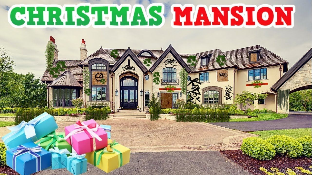 Wealthy Family's Abandoned Christmas Mansion - YouTube | IF