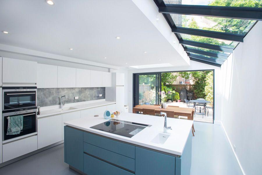 Highbury, N5 | Modern traditional House | Pinterest | Dachterrassen ...