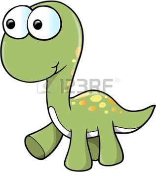 Cute Dinosaur  photo