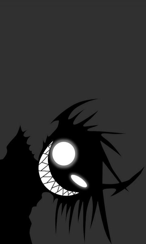 Scary Anime Backgrounds : scary, anime, backgrounds, Yossawat, Veerametapan, Blacker, Scary, Illustrations,, Black, White, Cartoon