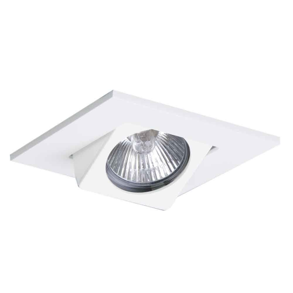 Halo 3 In White Recessed Ceiling Light Square Adjustable Eyeball Trim 3013wh The Home Depot Installing Recessed Lighting Led Recessed Lighting Recessed Lighting Trim