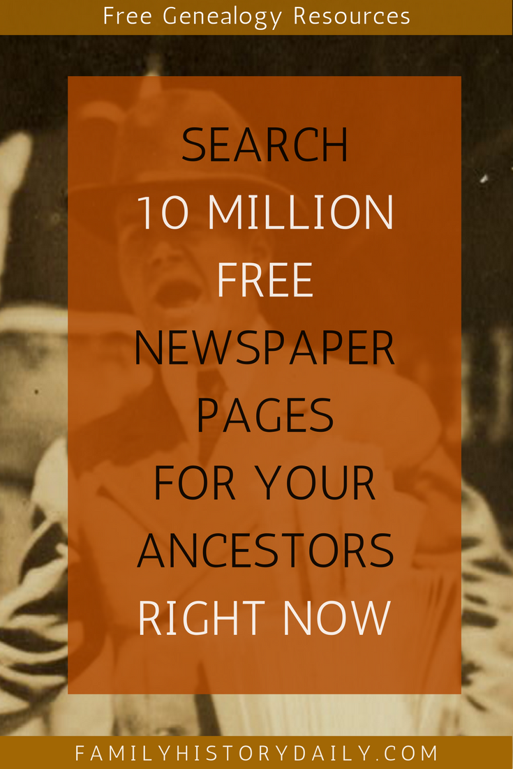 Chronicling America: Find Your Ancestors in These Free Old