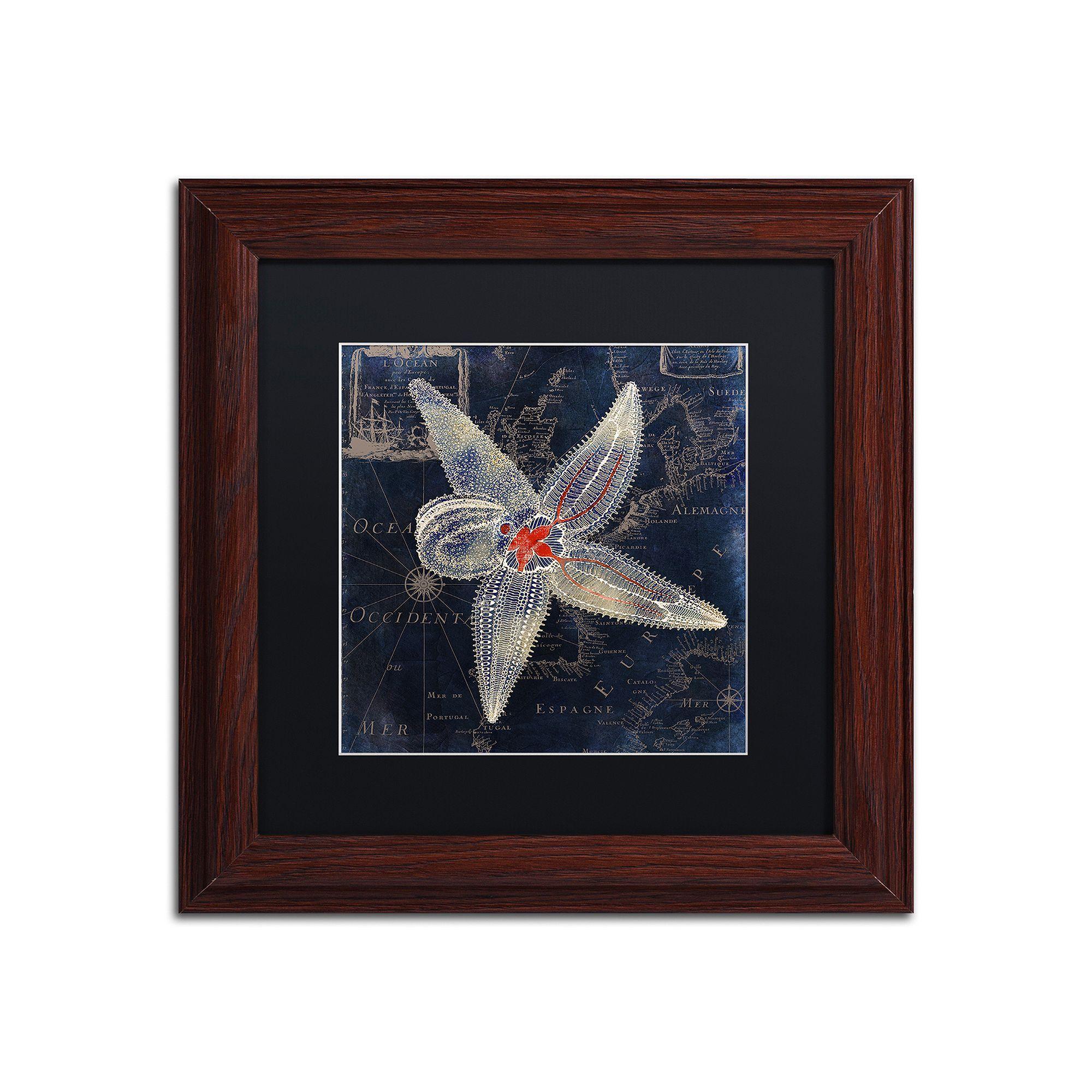 Trademark fine art maritime blues iv framed wall art pinterest