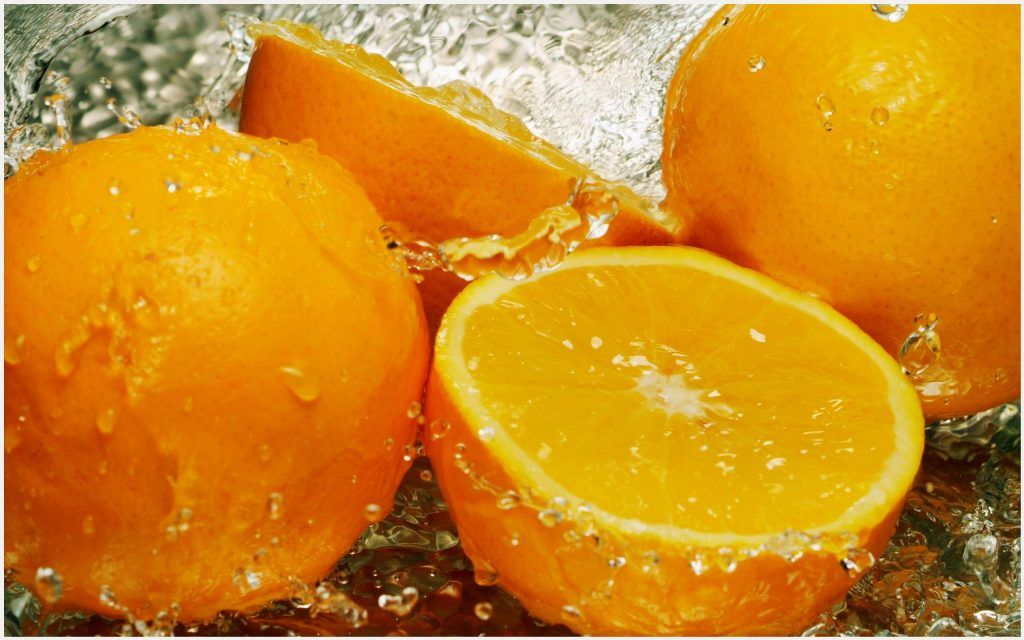 Orange Fruit Wallpaper