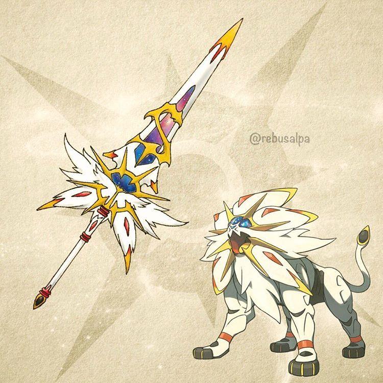 Solgaleo Pokemon Pokemon Solgaleo Pokemon Fan Art