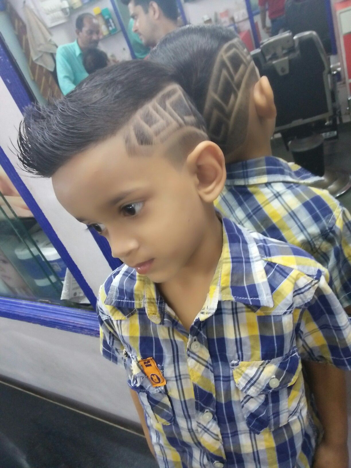 Double side haircut for boys kids hair style  hair styling  pinterest  hair style