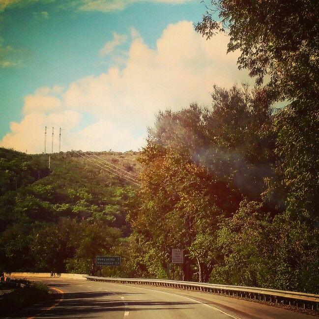 Road to Puerto Rico picture by Dr Janet Alvarez Gonzalez