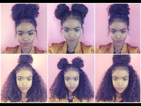 Natural Hair 6 Bun Styles For Curly Hair Curly Hair Styles Naturally Curly Hair Styles Natural Hair Styles