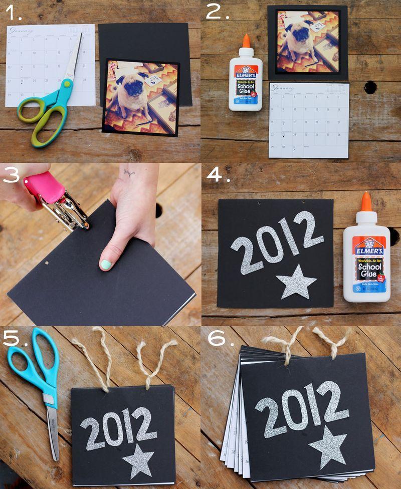 Calendar Handmade How To Make : A diy photo calendar that is fun and easy to make