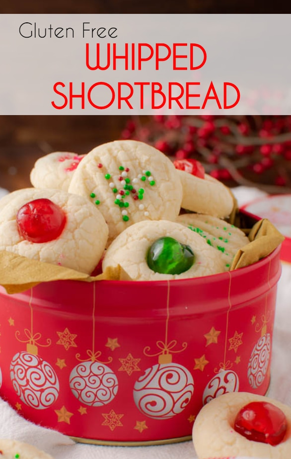 Gluten Free Whipped Shortbread Cookies - Faithfully Gluten Free #whippedshortbreadcookies Gluten Free Whipped Shortbread Cookies - Faithfully Gluten Free #whippedshortbreadcookies