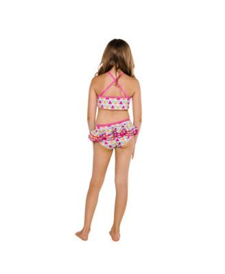 Two Piece Fille Roxy Heart in The Waves