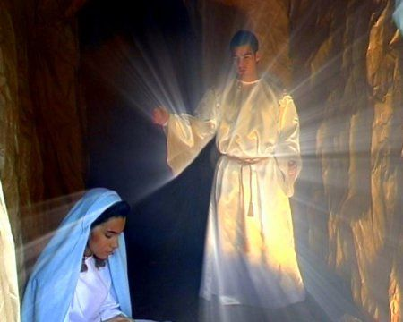 Maria discovers she is pregnant. | I am filled with the Holy Spirit of God ...