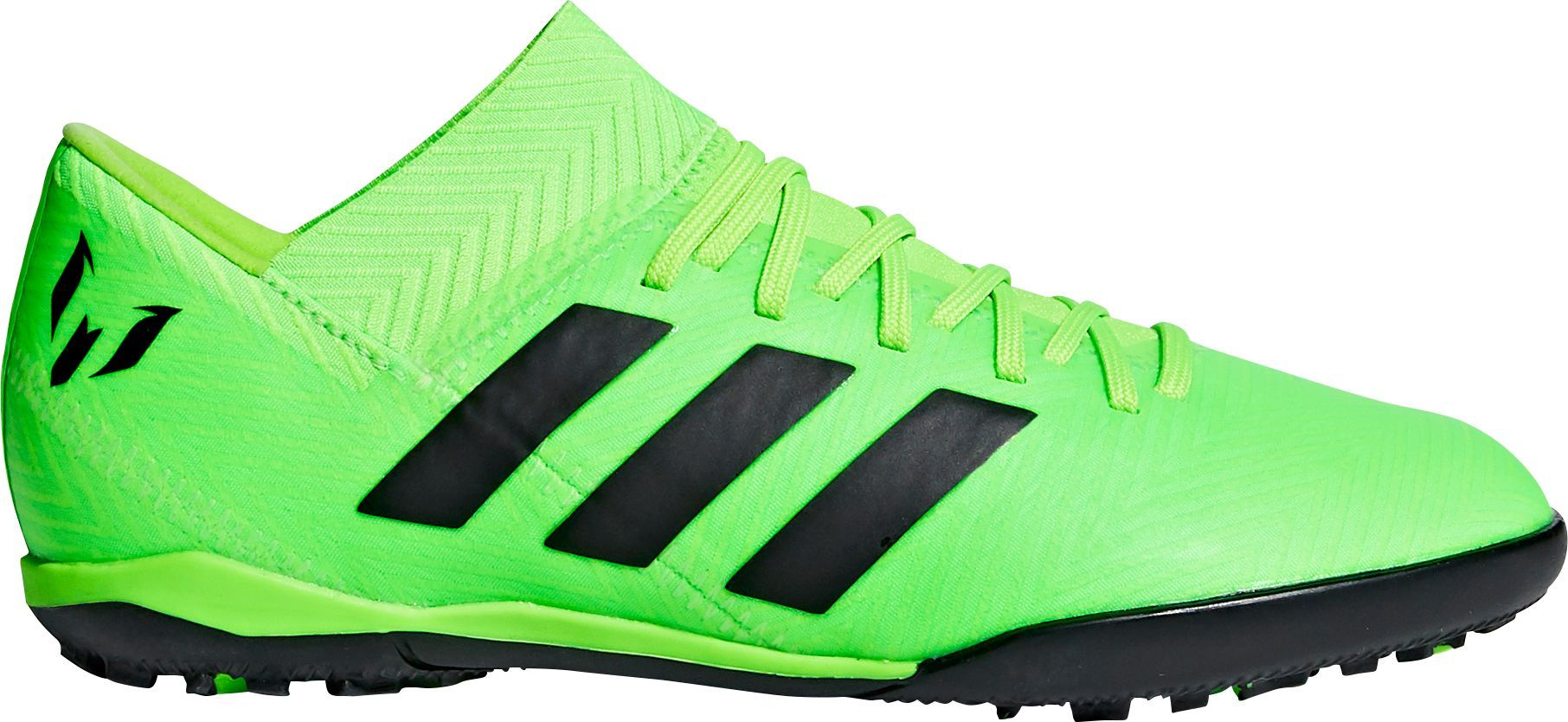 17e4a6820 adidas Kids' Nemeziz Messi Tango 18.3 TF Soccer Cleats, Boy's, Size: 6.0,  Green