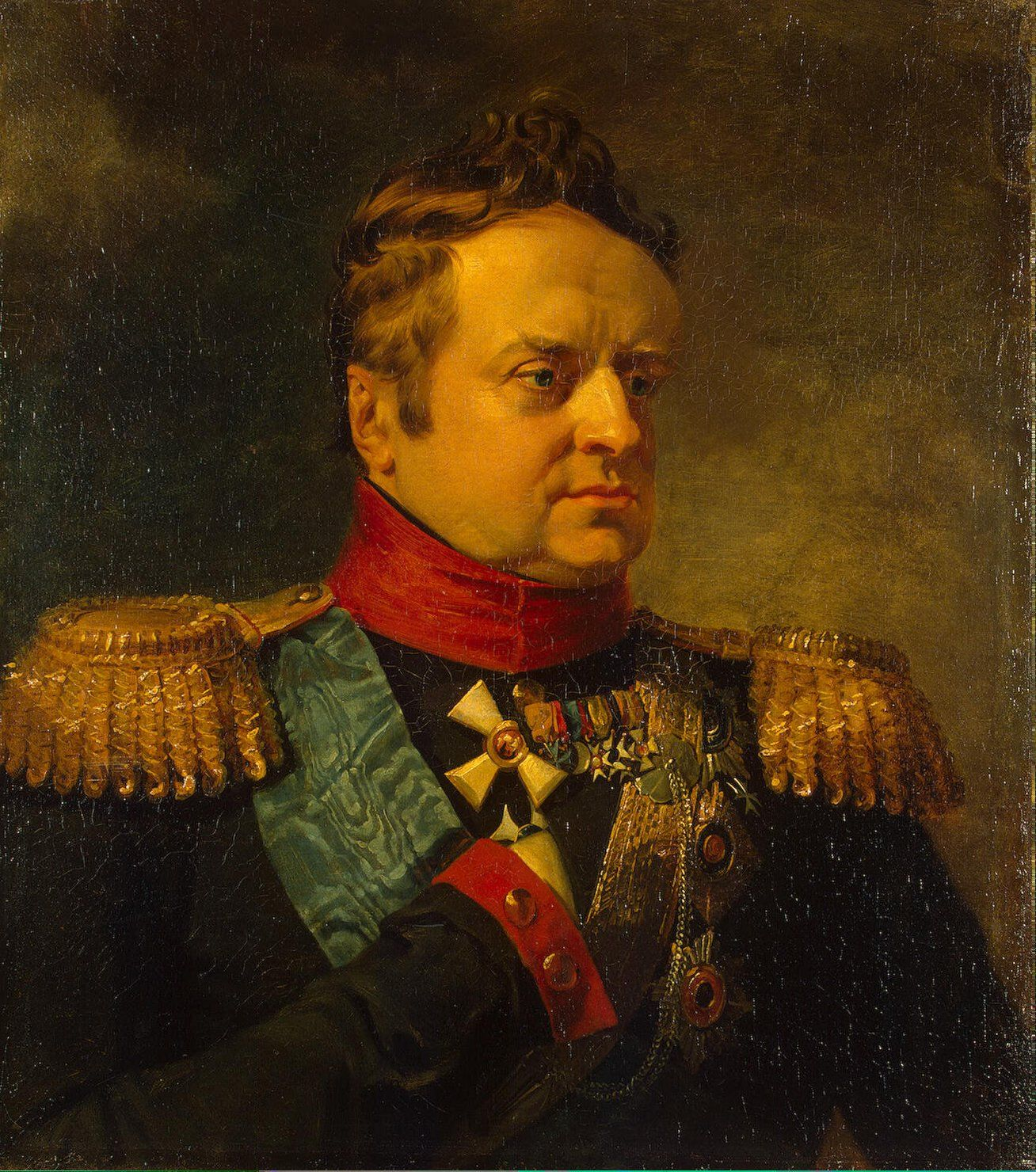Portrait Of Alexander Prince Of Wurttemberg 1771 1833 George