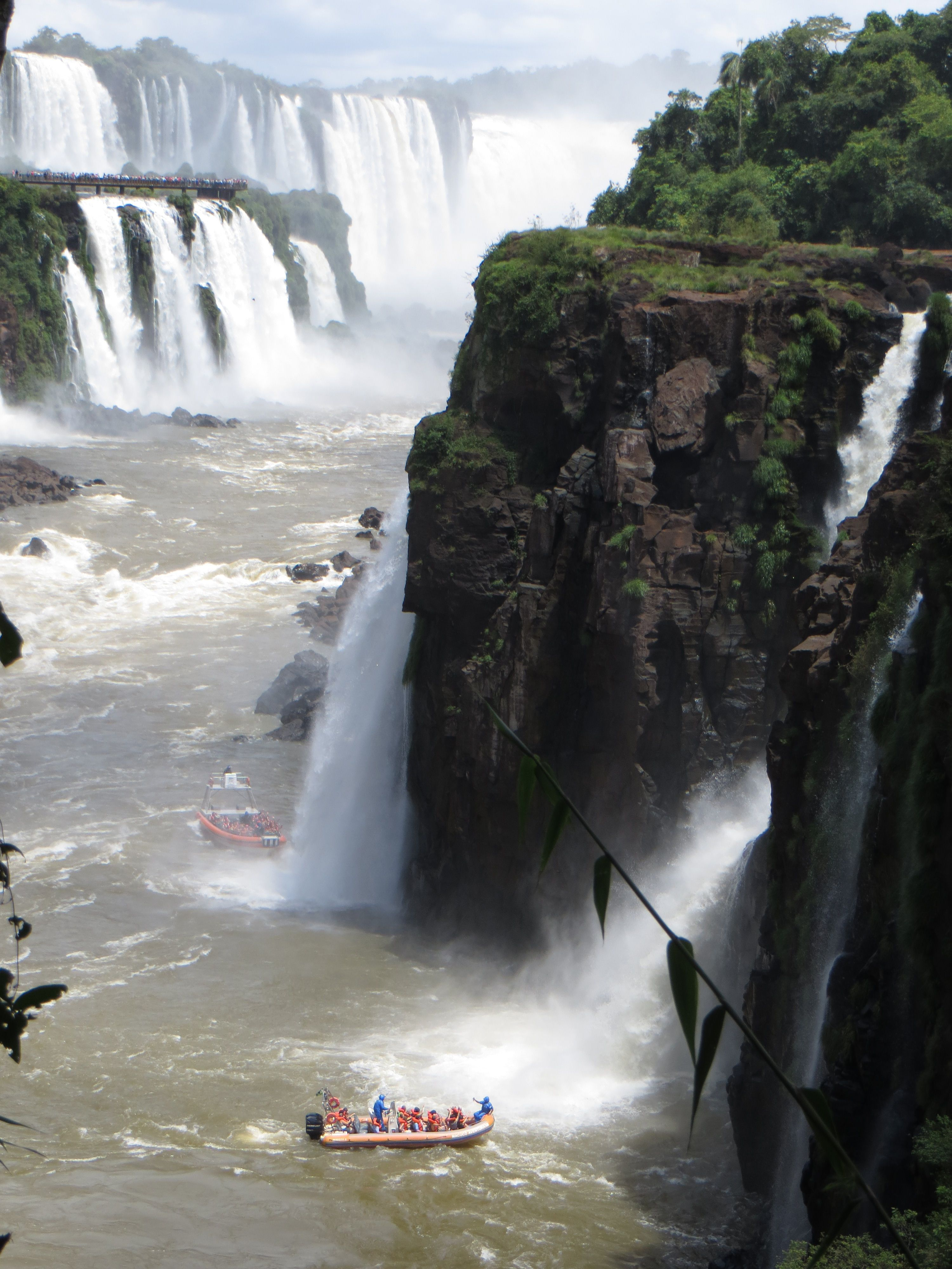 IguazuFalls I was here in 1993! Beautiful place. Us