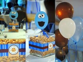 Captivating Cookie Monster Baby Shower