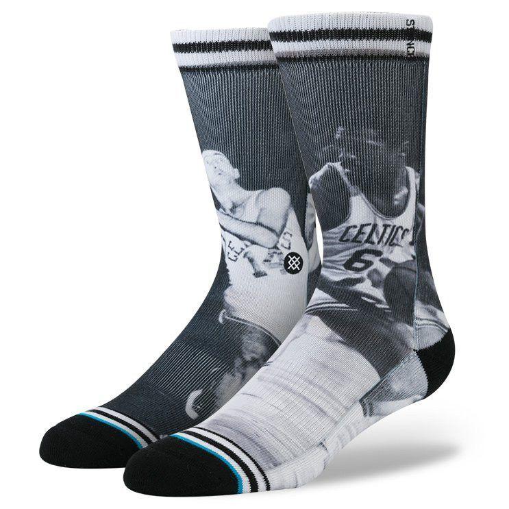 f63e7586c89f Stance Men s Cousy Russel Socks - Black