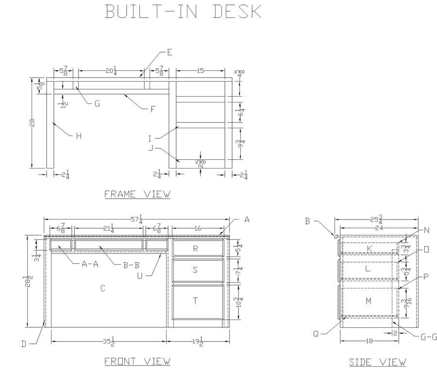 wooden desk plans,how to build a wood desk free woodworking plans