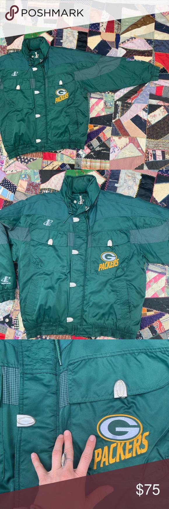 Green Bay Packers Puffer Jacket Puffer Jackets Jackets Puffy Jacket