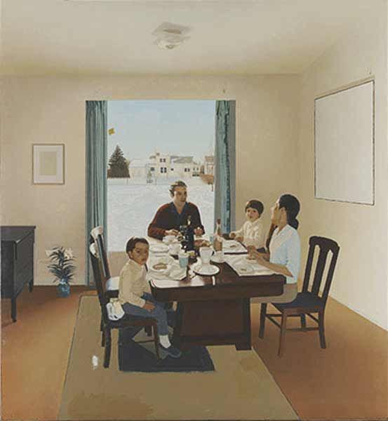 lambiance de la salle manger en rve jack chambers 1931 1978 maison appartement et ce qui est relatif lhabitat en rve pinterest