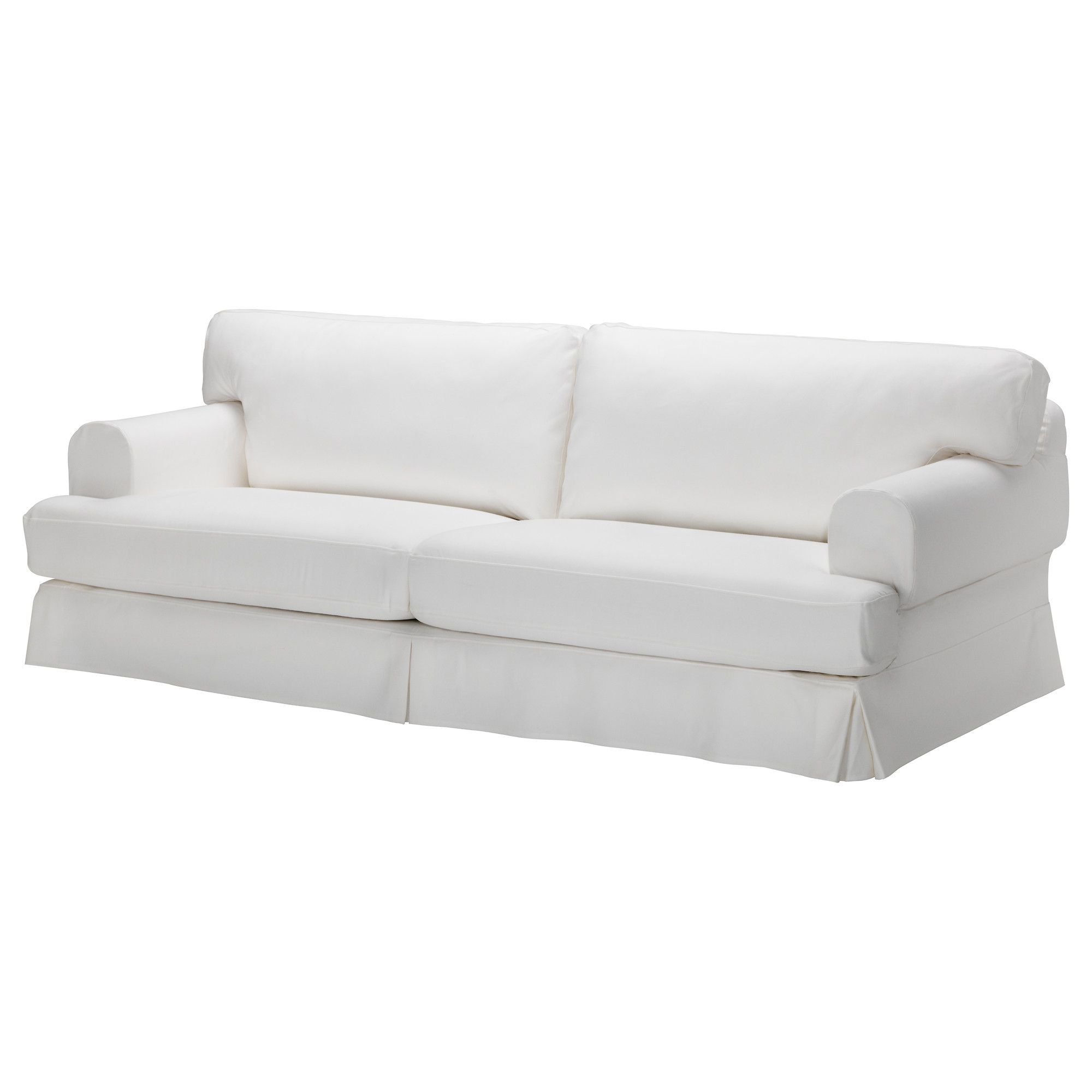 HOVÅS Sofa - Gobo white - IKEA This probably won't be ...