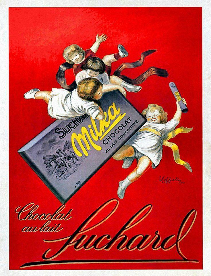 Leonetto Cappiello chocolate advertisement