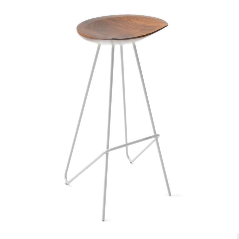 Enjoyable Perch Stool White Stool Bar Stools Dining Stools Short Links Chair Design For Home Short Linksinfo