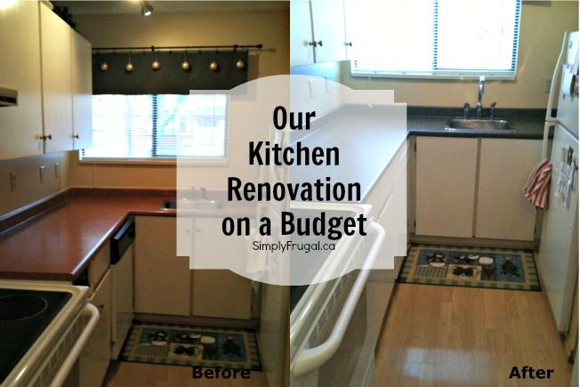Our Kitchen Renovation on a Budget Workout Pinterest Kitchen - Kitchen Renovation On A Budget