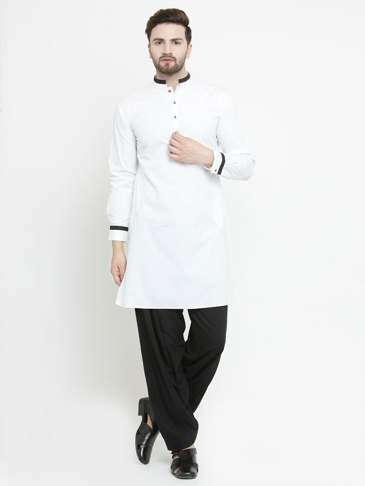 Varmohey Mens Kurta Pajama Set Mens Indian Ethnic Outfit Indian Kurta Pajama Set for Men