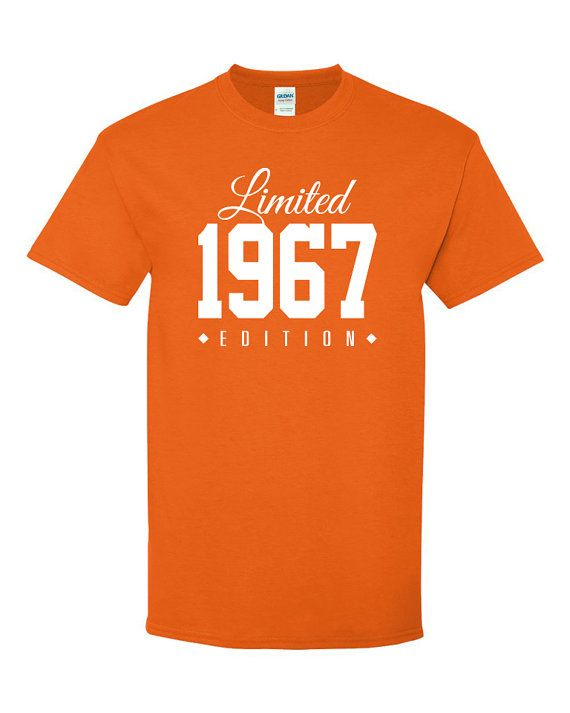 1967 Limited Edition 49th Birthday Party Shirt By TeeHeeHeeShirt 90th Gifts Woman