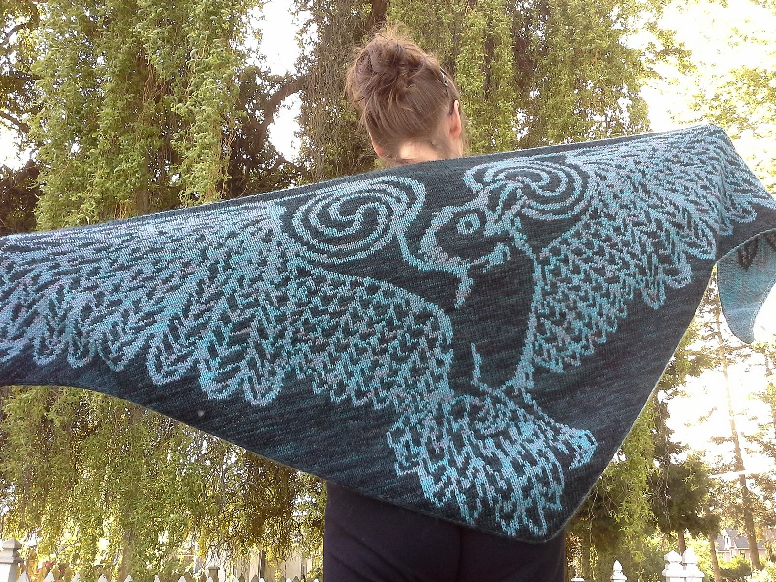 Thought and memory celtic raven pattern by tania richter ravelry thought and memory celtic raven pattern by tania richter bankloansurffo Choice Image