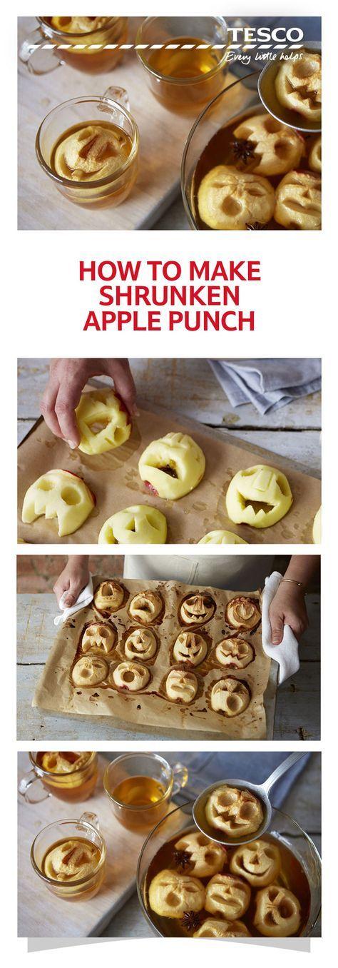 How to make shrunken apple punch #thanksgivingfood